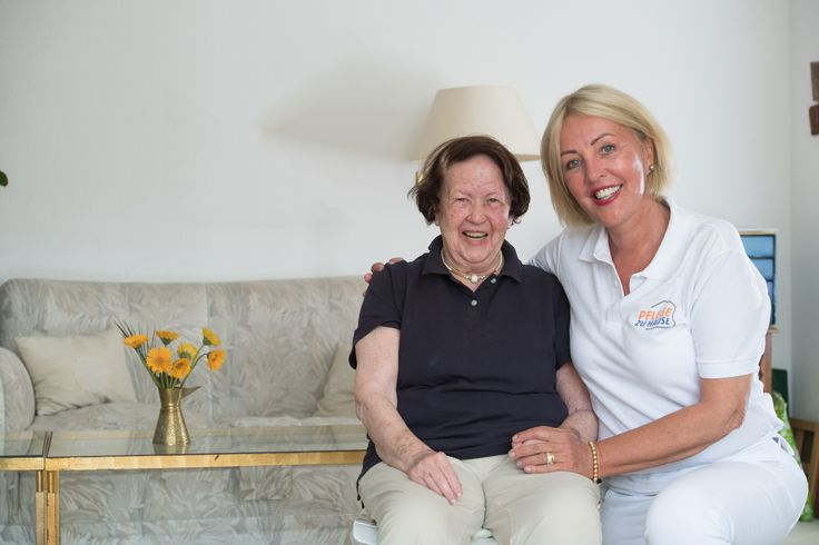 Pflege zu Hause Christel Henoch blickt auf 20 Jahre Erfahrung in der ambulante Pflege zurück