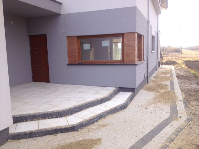 Wejście do domu #projekt #dom #architektura