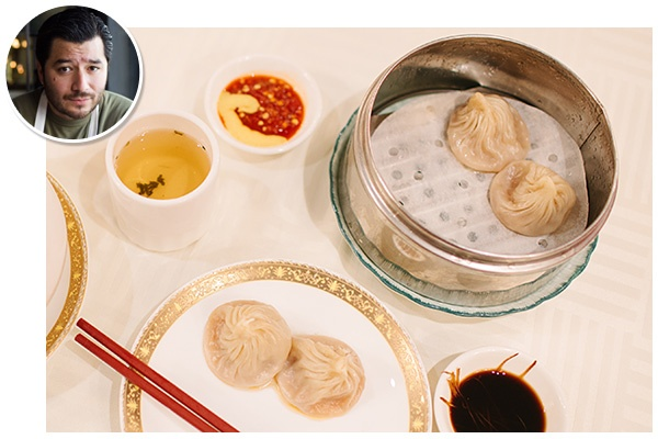 What: Xiaolongbao  Where: Shanghai No. 1 Seafood Village, 250 West Valley Boulevard (near Abbot Avenue); 626-282-1777.