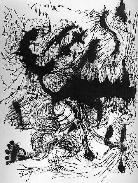 Jackson Pollock   Untitled   The Met