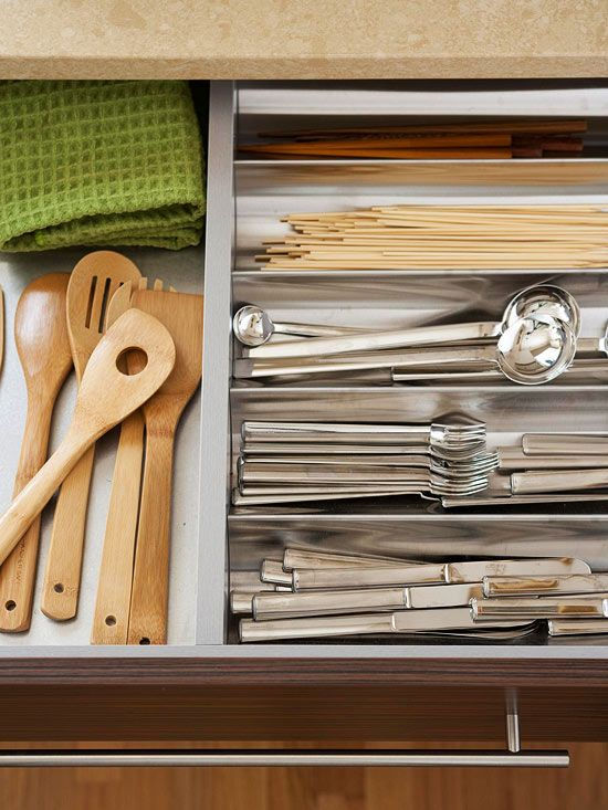 Creative ways to store dishes creative flatware and for Creative silverware storage