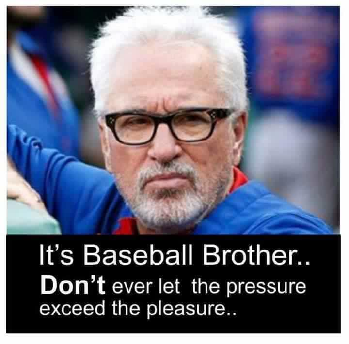 It's baseball brother.