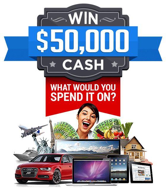 Win $50,000 Cash!