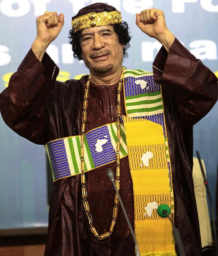 Style : Kadhafi le sapologue ou l'élégance à l'africaine | Je Wanda Magazine
