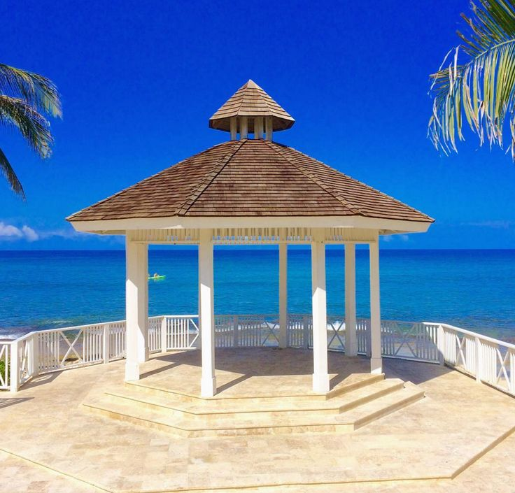 The perfect wedding spot nestled on the shores of Montego Bay