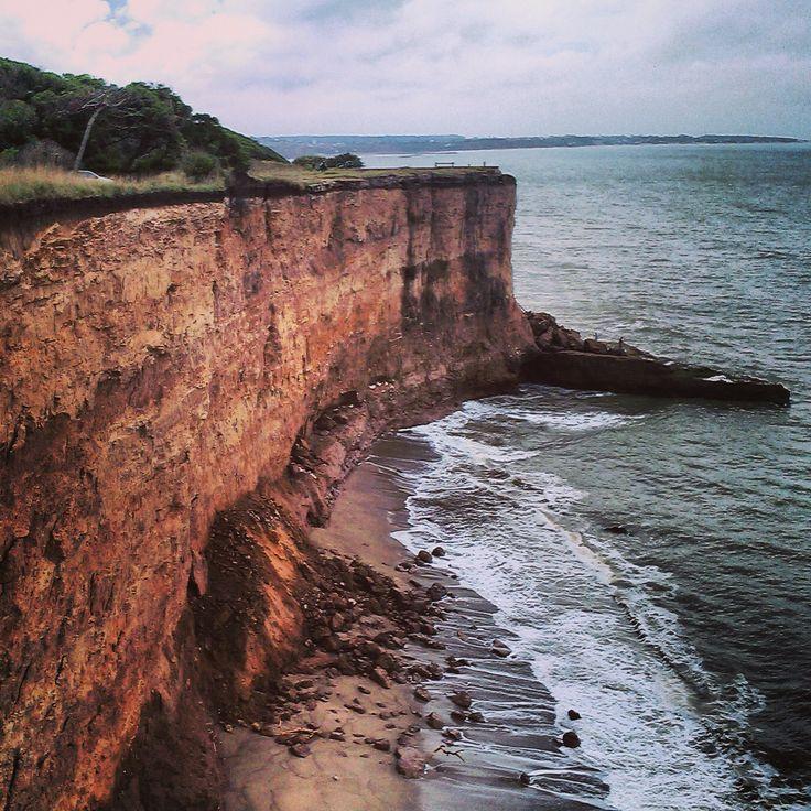 Mar del Plata, acantilados, Costa Atlantica, Argentina