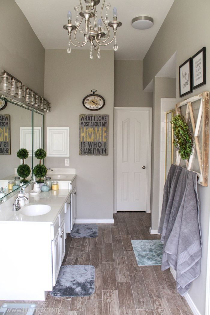 Master Bathroom Makeover On Great Tips And
