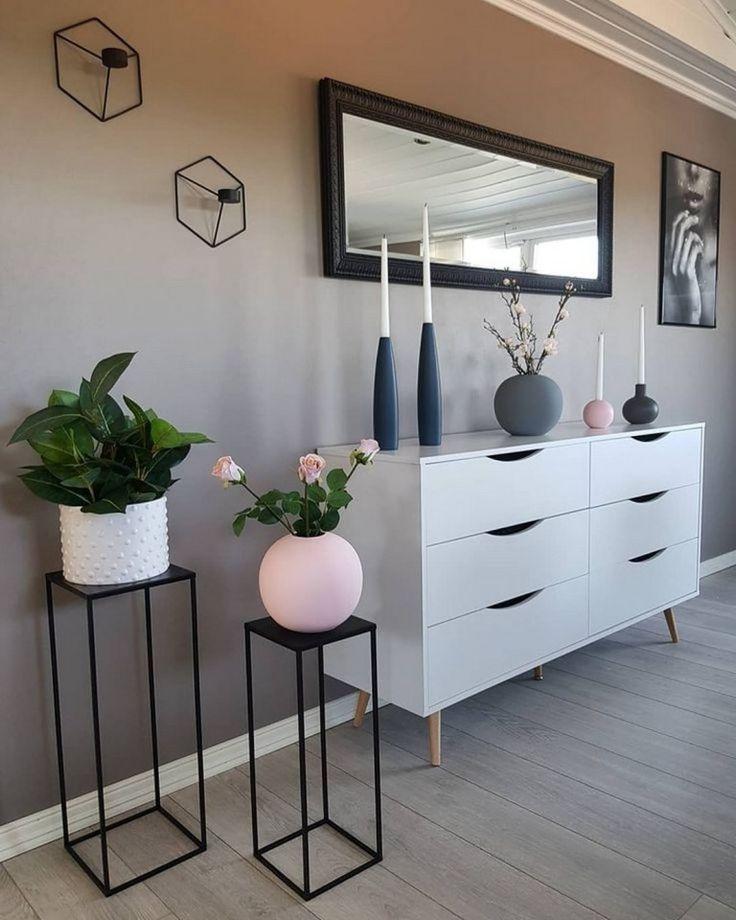 40+ Mid Century Modern Wohnzimmer Dekor Ideen #homedecorideas #homedecor #farmh