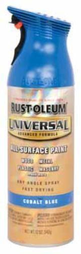 Rust-Oleum 245212 Universal Spray Paint Cobalt, Blue, 12 Oz
