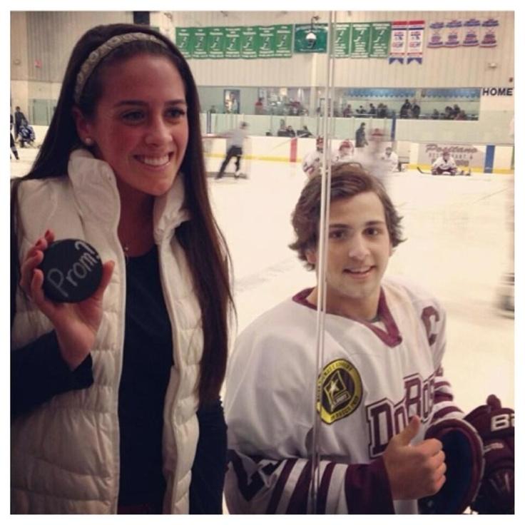 Hockey boyfriend? Perfect.