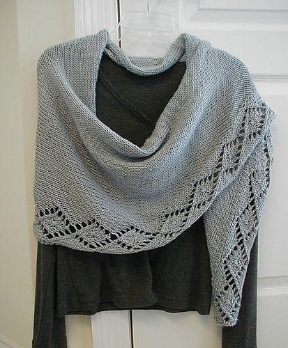 Free Pattern: Acadian Shawl by Melisa McCurley
