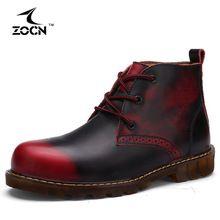 Любители Осень Женщины Мужчины Сапоги Коровы Кожаные Сапоги Мужчины Женская обувь Ковбойские Ботильоны Для Мужчин Квартиры Обувь Zapatos Hombre