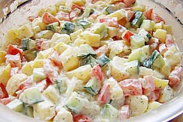 Dänischer Kartoffelsalat