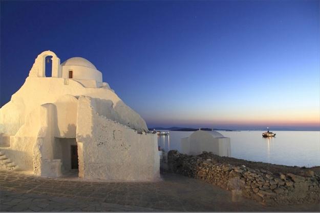 Paraportiani (greek orthodox church), Mykonos