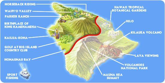 Things to do on the big island big island of hawaii for Fishing spots oahu