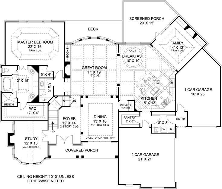First Floor Plan Image Of Drewnoport House Plan 4222 Sq Ft
