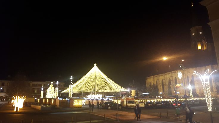 Christmas Market in Cluj 2015