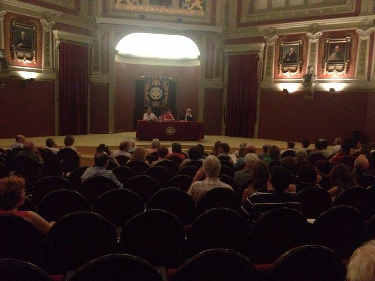 Presentación de 'LA FUENTE DONDE EL AGUA LLORA' (Umbriel) de Lola Moreno en Madrid