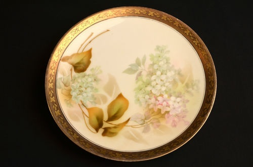 Details About Rs Prussia Lilac Flower Plate Reinhold