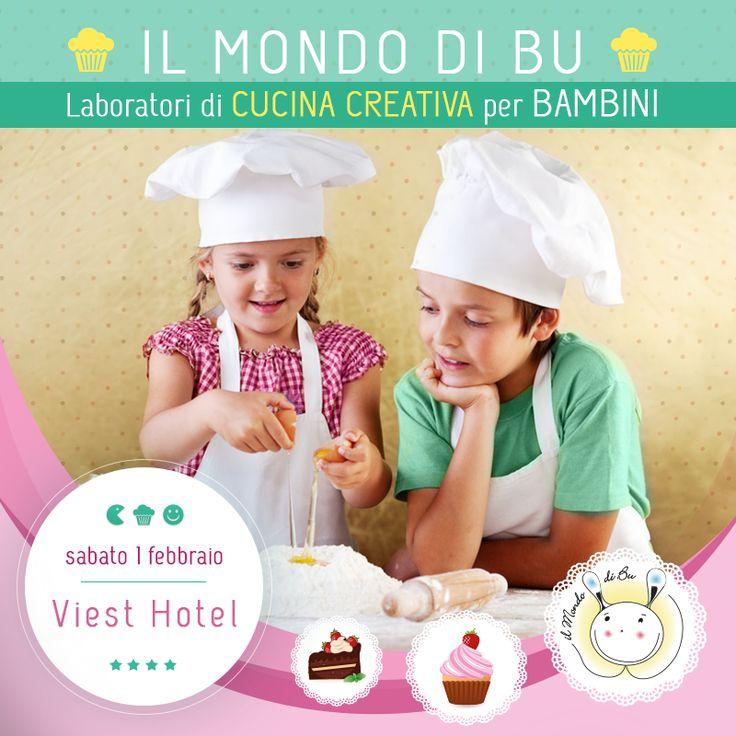 Evento di cucina creativa per bambini nella splendida cornice del Viest Hotel. www.ilmondodibu.it