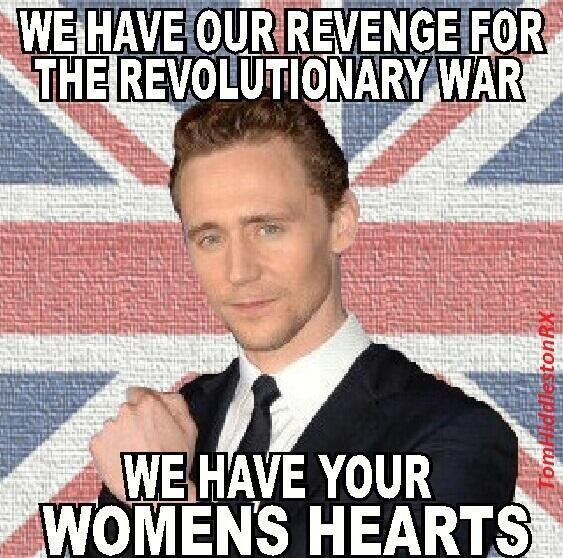 sweet revenge.... tom hiddleston loki