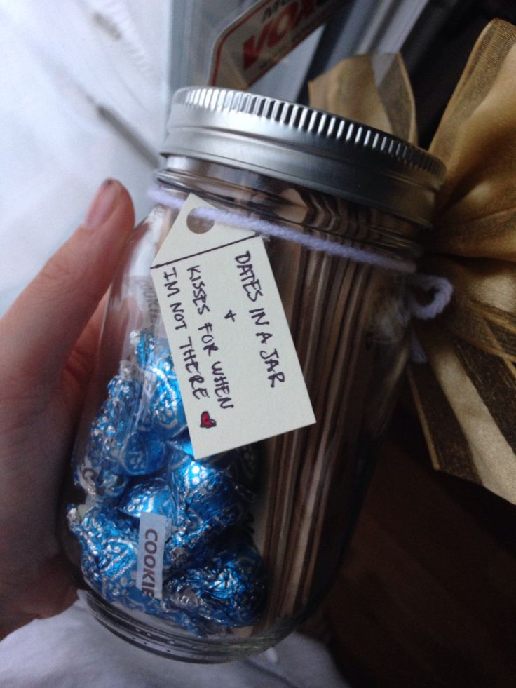 Date Ideas In A Jar And Kisses For When I M Not There