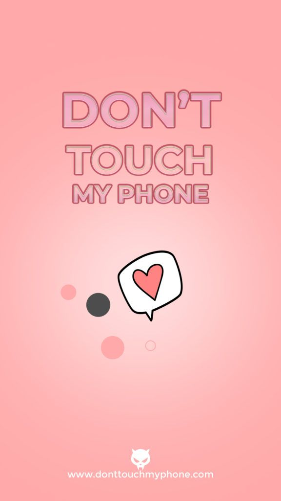 Cute Girly Mobile Wallpapers In 2020 Cute Mobile Wallpapers Hd Wallpaper Girly Dont Touch My Phone Wallpapers