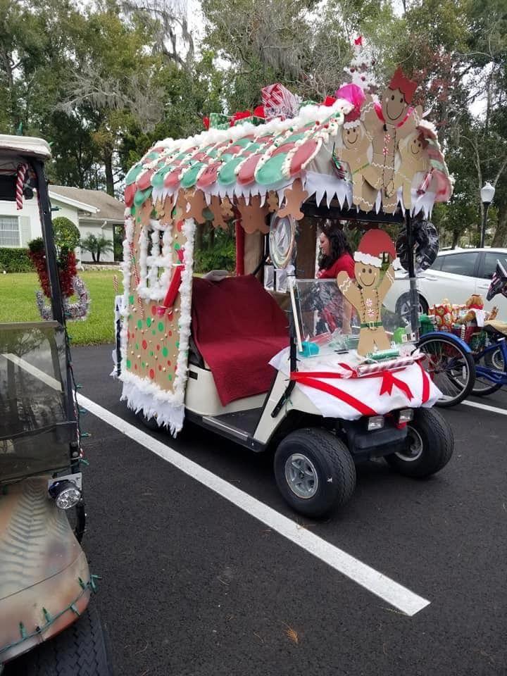 Golf Cart Parade Golfphotography Golf Carts Golf Cart Decorations Christmas Golf