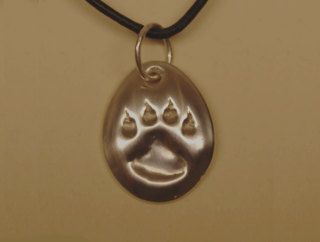 Silver wolf track