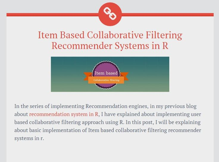 Item Based Collaborative Filtering Recommender Systems in R ~ Data Perspective