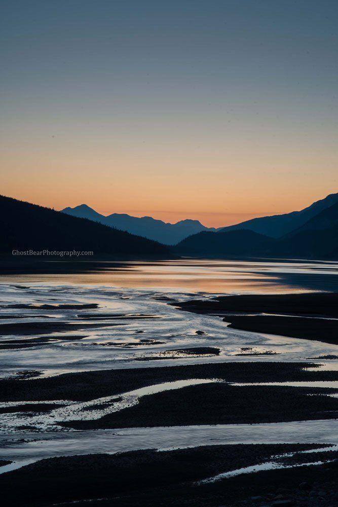 medicine lake in jasper national park ghostbearphotography.com