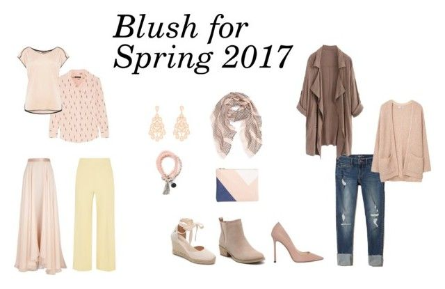 Blush for Spring 2017 by jennyzellerlutes on Polyvore