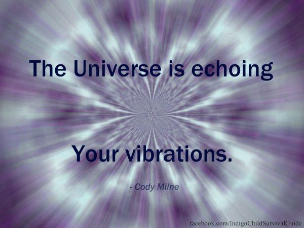 Los pensamientos, emociones y acciones que usted envía es lo que vendrá de nuevo a usted. Esta es la ley universal