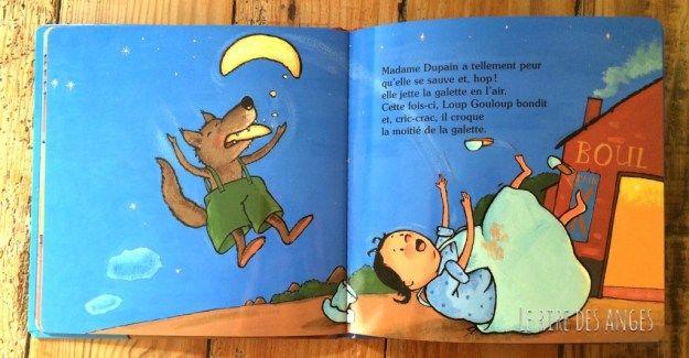 Loup Gouloup Et La Lune Le Rire Des Anges Loup Lune Ange