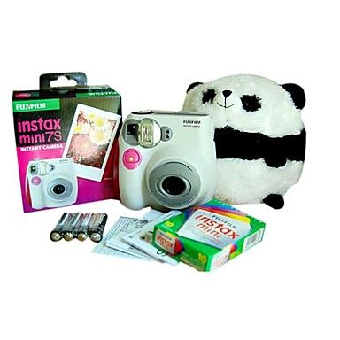 Fujifilm Instax Mini 7s Pink Instant Camera with 10 Films (DCE112) – EUR € 98.99