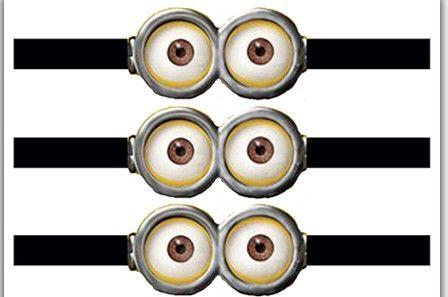 ojos de los minions para colorear - Buscar con Google