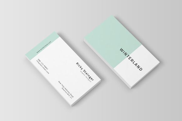 Simple Business Card Template by @Graphicsauthor