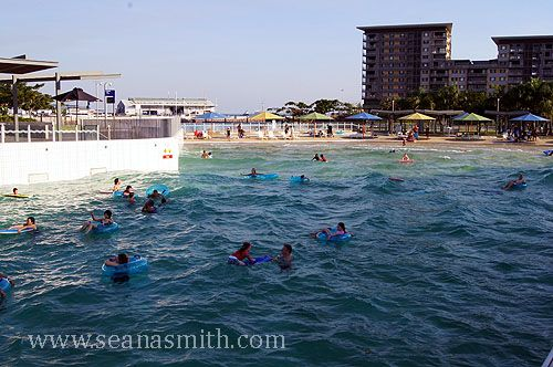 Darwin's Excellent Wave Pool, Down At The Waterfront. . See further details at blog http://www.seanasmith.com/darwin-wave-pool-waterfront-lagoon/