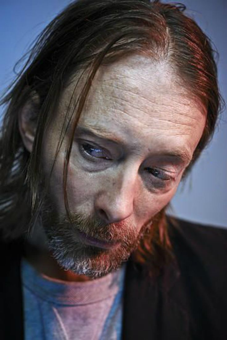 Thom Yorke Photo session - By Phil Fisk - London, 2013/02/04 for Observer