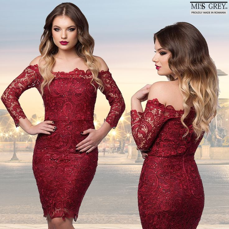 Sensual and delicate, that's the way you will feel while wearing the claret Zaira dress, an elegant dress, designed especially for the days you want to impress.