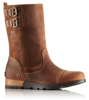 Women's SOREL™ Major Pull On Boot. Buttery, oiled suede and leather upper with adjustable back strap give the Major Pull On a distinctive military look. Molded EVA footbed and midsole add comfort and support while wavy herringbone outsole with leather-wrapped heel delivers traction. An everyday essential. $160