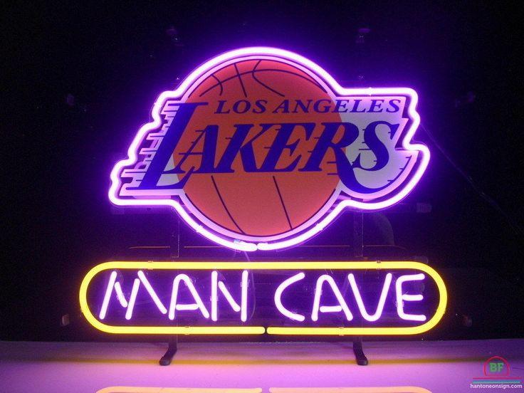 Man Cave Los Angeles Lakers Neon Sign NBA Teams Neon Light