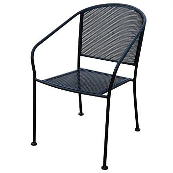 Outdoor Furniture & Outdoor Chairs - Briscoes - Oslo Steel Mesh Chair  Usually $90  got for $40