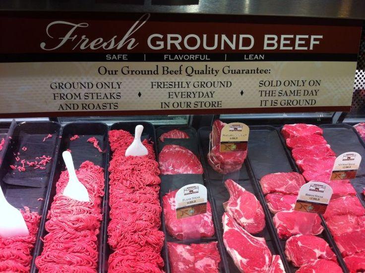 EE.UU: carne premium en el supermercado. Tiene el plus de que se renueva a diario