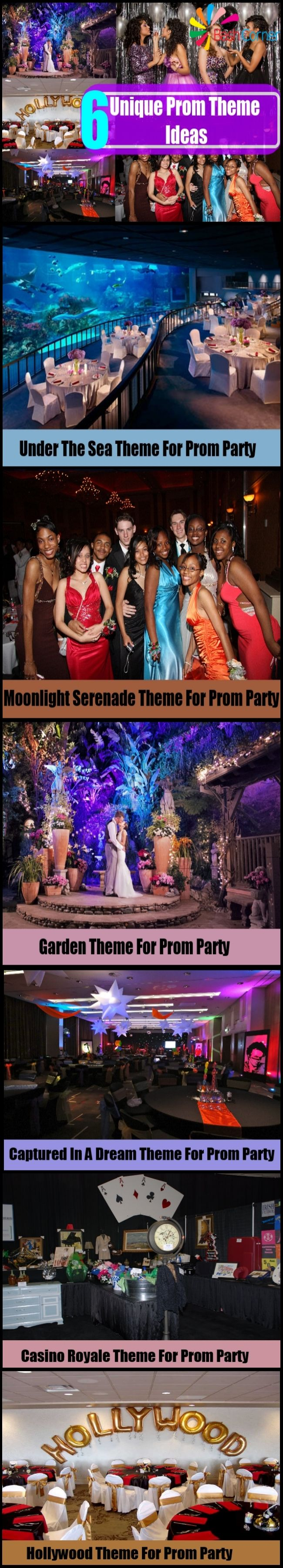 6 Unique Prom Theme Ideas