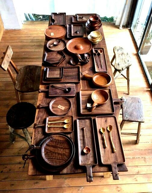 Mesa Diseño en Madera : igestudio - Instagram #woodwork