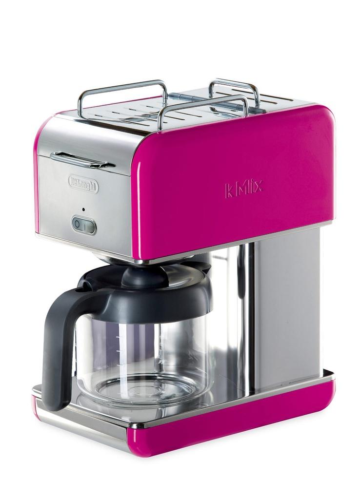 DeLonghi hot pink coffee maker Best coffee maker, Drip