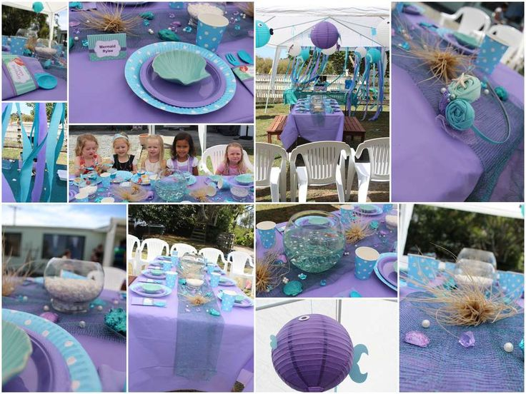 Mermaids / Under the Sea Birthday Party Ideas | Photo 1 of 17 | Catch My Party