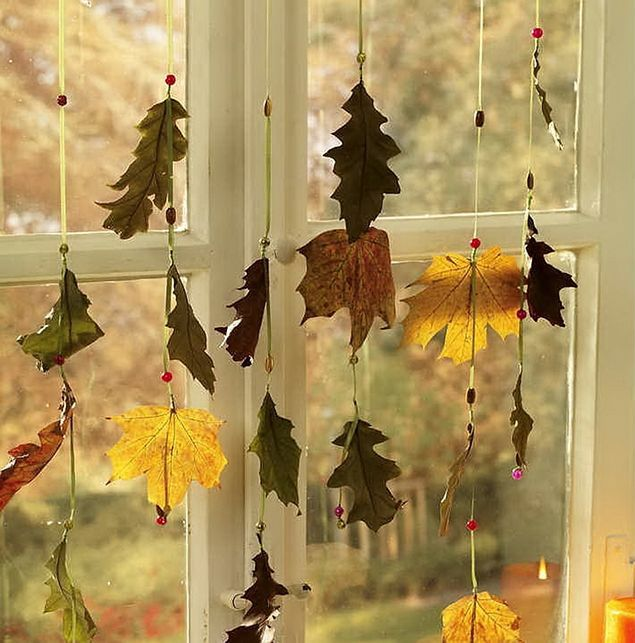 Fall window decoration - Window decorations for fall ...