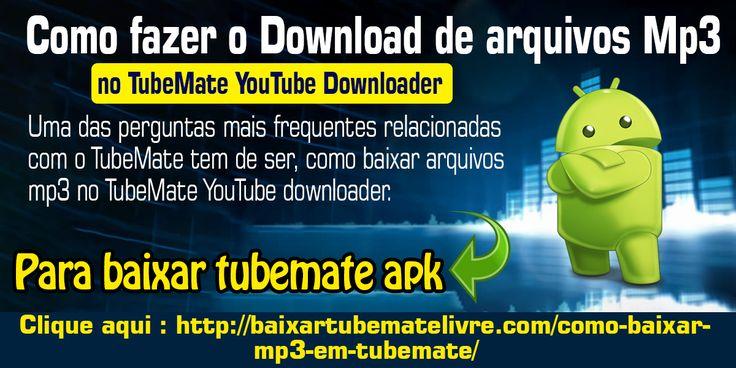 Mas antes de começarmos com o processo de download de arquivos mp3 na versão TubeMate 2.2.9, vamos falar um pouco sobre o popular aplicativo de download de vídeos do YouTube.